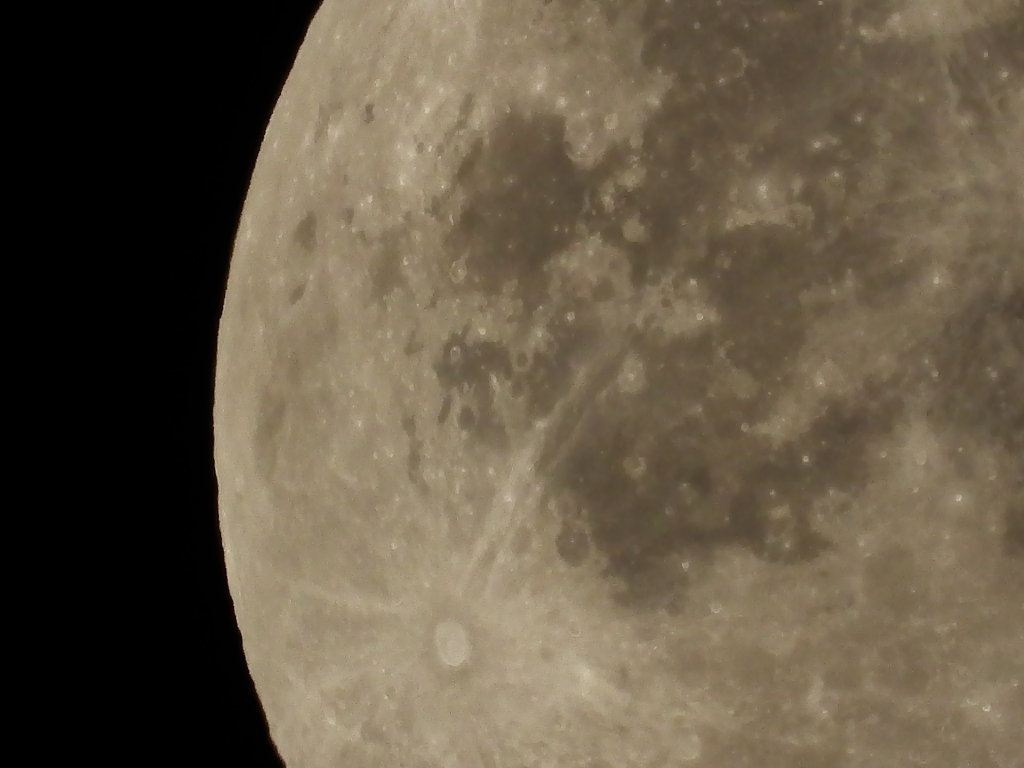 Moon at 6000mm Digital Zoom