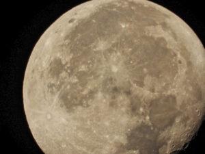 Moon at 3000mm