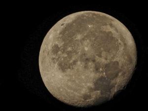 Moon at 2500mm zoom