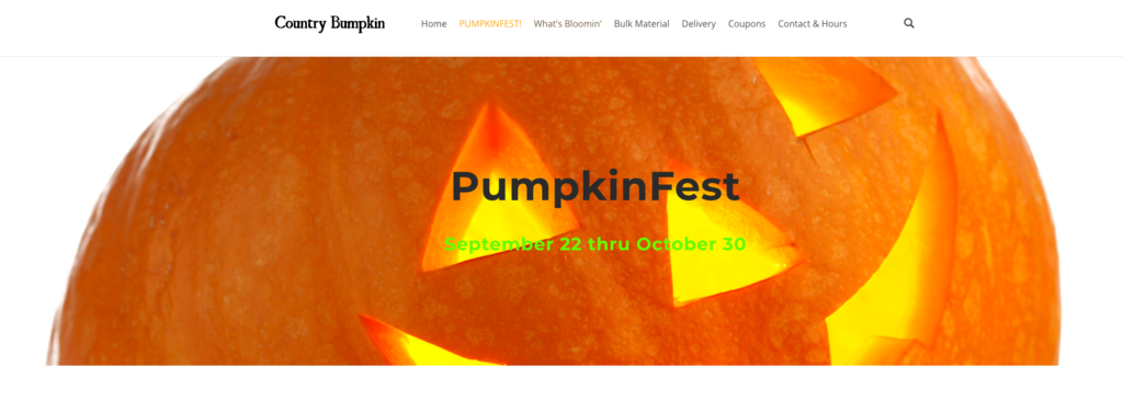 Country Bumbkin Pumpkinfest