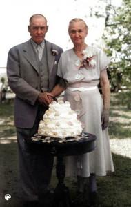 John Clough and Lydia Cory Clough Anniversary
