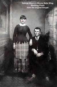 George and Minnie Wing Moore